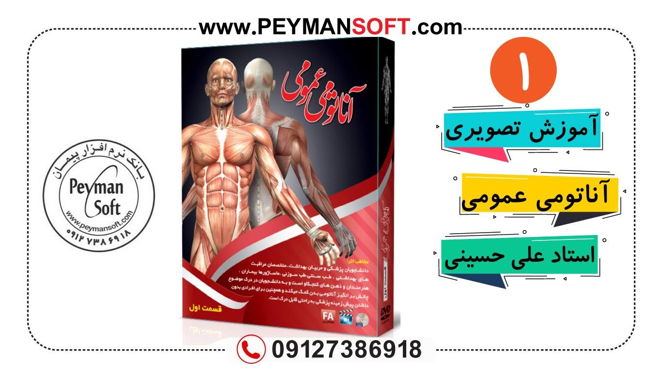 آموزش آناتومی عمومی بدن انسان پارت ۱(استاد حسینی)