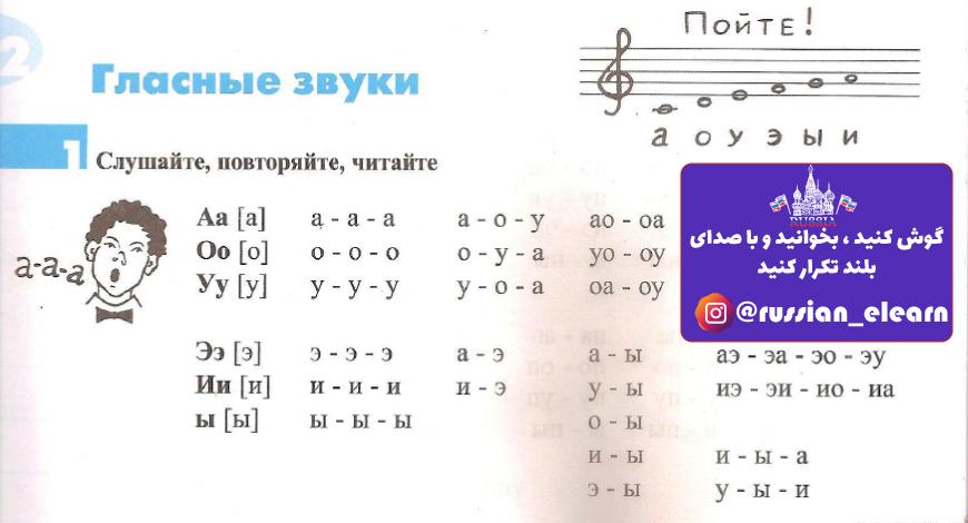 آموزش زبان روسی درس چهارم
